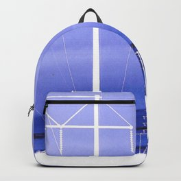 Electric blues Backpack
