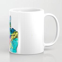 VI island hands Coffee Mug