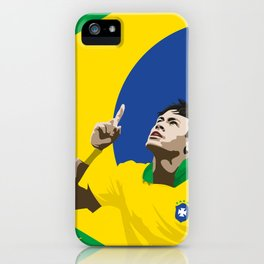 Neymar Brasil 2 iPhone Case