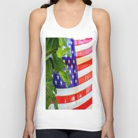 flag Tank Tops featuring Flag by Jodi Kassowitz Photography