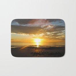 sunset over Broome Bath Mat