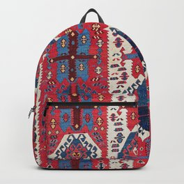 Malatya Antique East Anatolia Kurdish Kilim Print Backpack