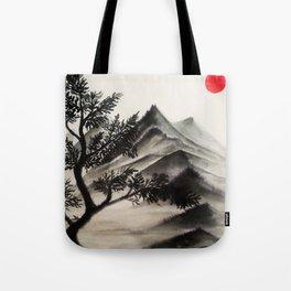 Mountains No2 Tote Bag