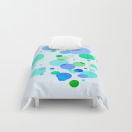 Blue & Green Dots Comforters