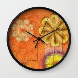 Dorsel Trance Flower  ID:16165-115815-42891 Wall Clock