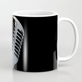 Vintage Microphone Pop Art Coffee Mug