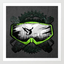 Mask MTB Logo Art Print