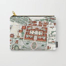 STANFORD CALIFORNIA University map Carry-All Pouch