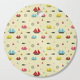 Boats Cutting Board