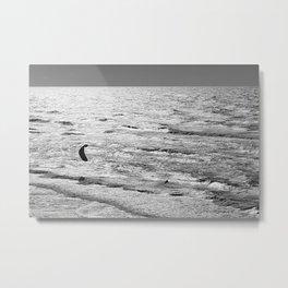 Kite Surfer Metal Print