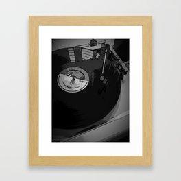 Vinyl 2 Framed Art Print