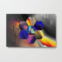hexagon II Metal Print