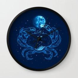 Me Gusta La Luna Llena Wall Clock