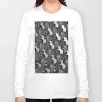 scales Long Sleeve T-shirts featuring  Scales. by Assiyam