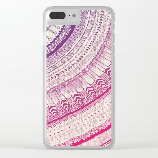 Live Laugh Love Clear iPhone Case