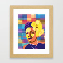 IT'S Billie Holiday Framed Art Print