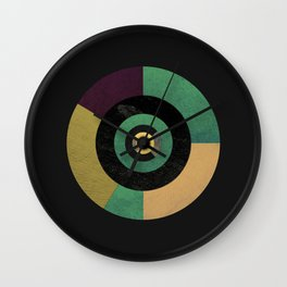 Circle Fibonacci.1 Wall Clock