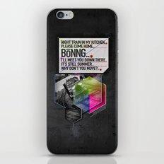 Bönng II iPhone & iPod Skin