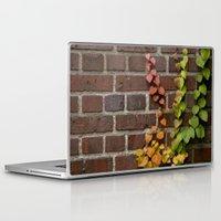 climbing Laptop & iPad Skins featuring Climbing by C. Wie Design