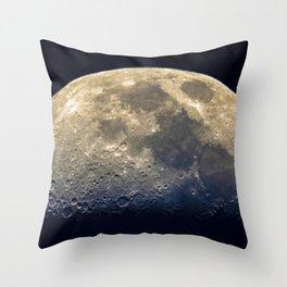 Twilight on the moon Throw Pillow