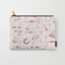Chemistry in Pink Science STEM Carry-All Pouch