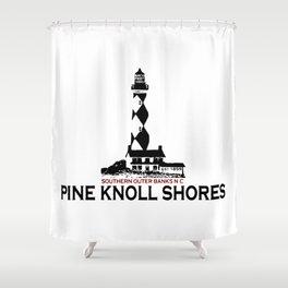 Pine Knoll  Shores - North Carolina. Shower Curtain