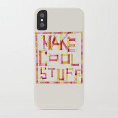Make Cool Stuff iPhone X Slim Case