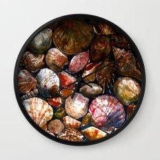 Shell 1 Wall Clock