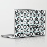 frames Laptop & iPad Skins featuring Frames by Lynette Sherrard Illustration and Design