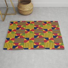 African Kente Pattern 9 Rug