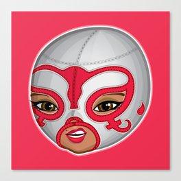 Viva la lucha - Portrait Canvas Print
