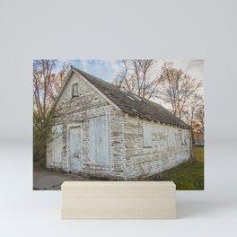 Main Street, Denhoff, North Dakota 11 Mini Art Print
