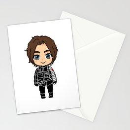 Bucky Pixel Stationery Cards