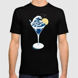 Waves Cocktail T-shirt