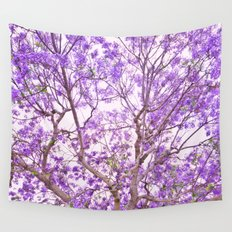 Purple Dream Wall Tapestry