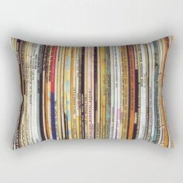 vinyl records Rectangular Pillow