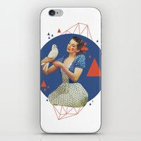 dorothy iPhone & iPod Skins featuring Dorothy by Cut and Paste Lady