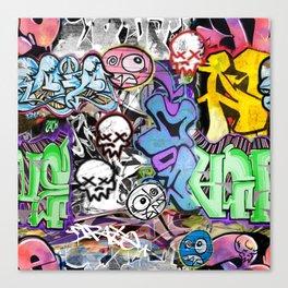 Graffiti is art. Canvas Print