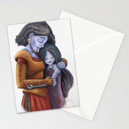 Angrboda and Hela Stationery Cards