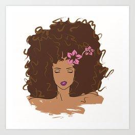 Fancy Girl Art Print