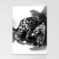 panther Stationery Cards featuring Panther by Sophie Jean-Paul