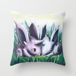 Viridian Snuggle Throw Pillow