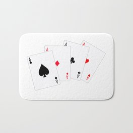 Four Aces Bath Mat