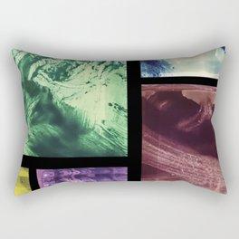 Wall Of Memories Rectangular Pillow