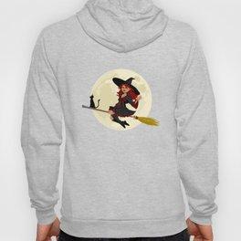 Friendly halloween witch Hoody