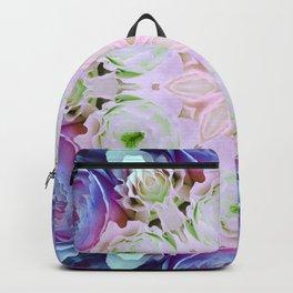 modern floral mandala Backpack