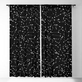 Zodiac Star Constellations Pattern Blackout Curtain