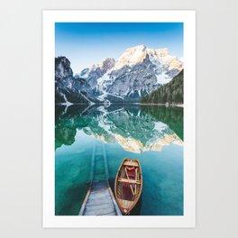 Pragser Wildsee Art Print