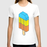 popsicle T-shirts featuring Popsicle by Haitham Almayman