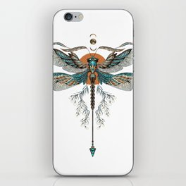 Dragonfly Tattoo iPhone Skin